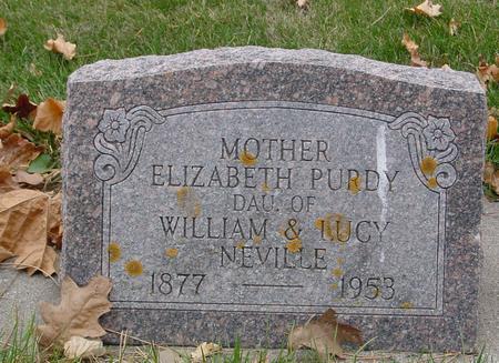 NEVILLE PURDY, ELIZABETH - Sac County, Iowa | ELIZABETH NEVILLE PURDY