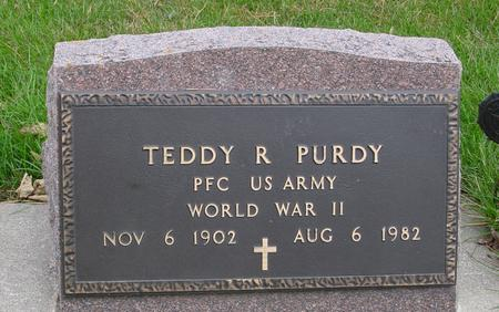 PURDY, TEDDY R. - Sac County, Iowa | TEDDY R. PURDY