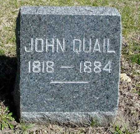 QUAIL, JOHN - Sac County, Iowa | JOHN QUAIL