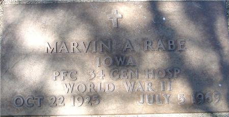 RABE, MARVIN A. - Sac County, Iowa | MARVIN A. RABE