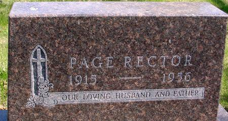 RECTOR, PAGE - Sac County, Iowa | PAGE RECTOR