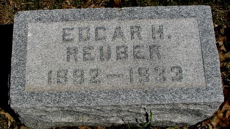 REUBER, EDGAR H. - Sac County, Iowa | EDGAR H. REUBER