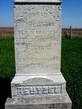 REUTZEL, KONRAD - Sac County, Iowa | KONRAD REUTZEL