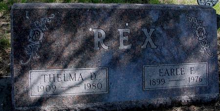REX, EARLE & THELMA - Sac County, Iowa | EARLE & THELMA REX