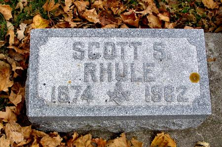 RHULE, SCOTT S. - Sac County, Iowa | SCOTT S. RHULE