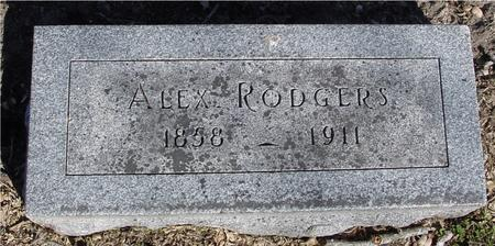 RODGERS, ALEX - Sac County, Iowa | ALEX RODGERS
