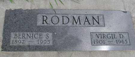 RODMAN, VIRGIL & BERNICE - Sac County, Iowa | VIRGIL & BERNICE RODMAN