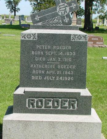 ROEDER, PETER - Sac County, Iowa | PETER ROEDER