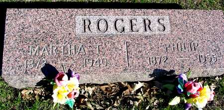 ROGERS, PHILIP & MARTHA T. - Sac County, Iowa | PHILIP & MARTHA T. ROGERS