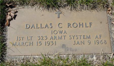 ROHLF, DALLAS C. - Sac County, Iowa | DALLAS C. ROHLF