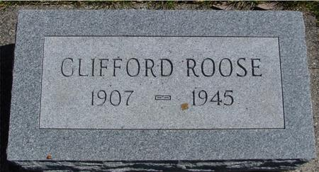 ROOSE, CLIFFORD - Sac County, Iowa   CLIFFORD ROOSE