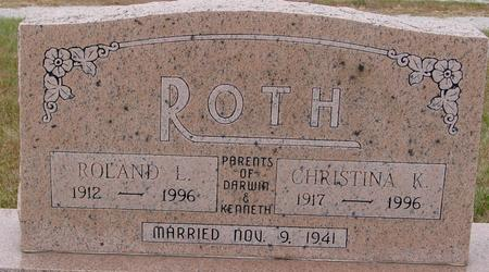 ROTH, ROLAND L. - Sac County, Iowa | ROLAND L. ROTH