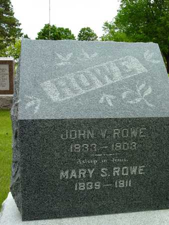 ROWE, JOHN V. & MARY S. - Sac County, Iowa | JOHN V. & MARY S. ROWE