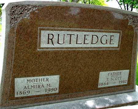 RUTLEDGE, T. SCOTT & ALMIRA - Sac County, Iowa | T. SCOTT & ALMIRA RUTLEDGE