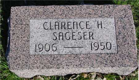 SAGESER, CLARENCE H. - Sac County, Iowa | CLARENCE H. SAGESER
