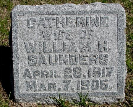 SAUNDERS, CATHERINE - Sac County, Iowa | CATHERINE SAUNDERS