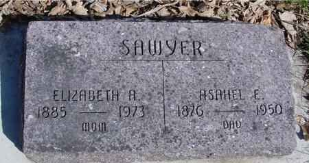 SAWYER, ASAHEL E. & ELIZ. - Sac County, Iowa | ASAHEL E. & ELIZ. SAWYER
