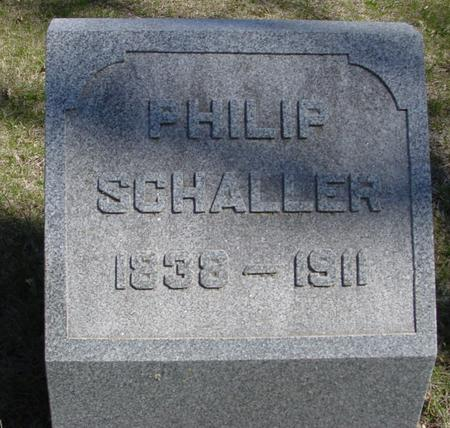 SCHALLER, PHILIP - Sac County, Iowa | PHILIP SCHALLER