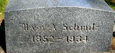 SCHMITZ, MARY A. - Sac County, Iowa | MARY A. SCHMITZ