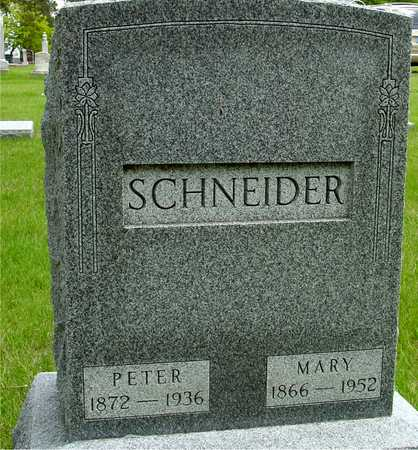 SCHNEIDER, PETER & MARY - Sac County, Iowa | PETER & MARY SCHNEIDER