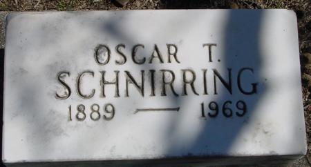 SCHNIRRING, OSCAR T. - Sac County, Iowa | OSCAR T. SCHNIRRING