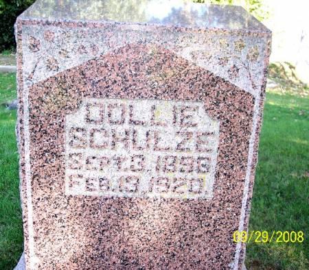SCHULZE, DOLLIE - Sac County, Iowa | DOLLIE SCHULZE