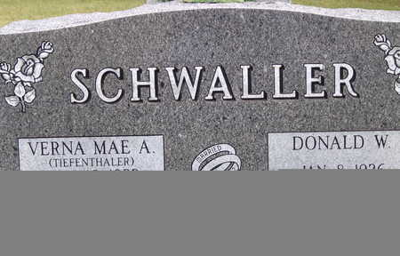 SCHWALLER, DONALD - Sac County, Iowa | DONALD SCHWALLER