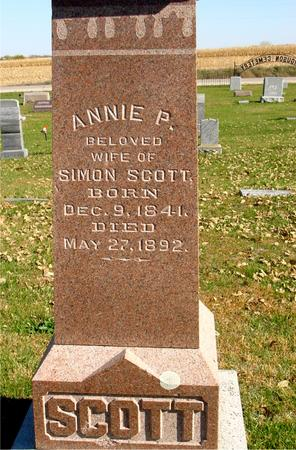 SCOTT, ANNIE P. - Sac County, Iowa | ANNIE P. SCOTT