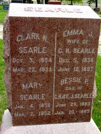 SEARLE, CLARK N. & EMMA J. - Sac County, Iowa | CLARK N. & EMMA J. SEARLE