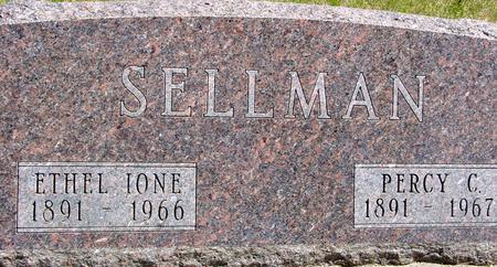 SELLMAN, PERCY & ETHEL - Sac County, Iowa | PERCY & ETHEL SELLMAN