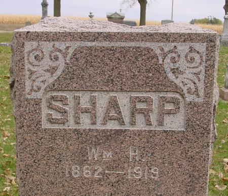 SHARP, WILLIAM H. - Sac County, Iowa | WILLIAM H. SHARP