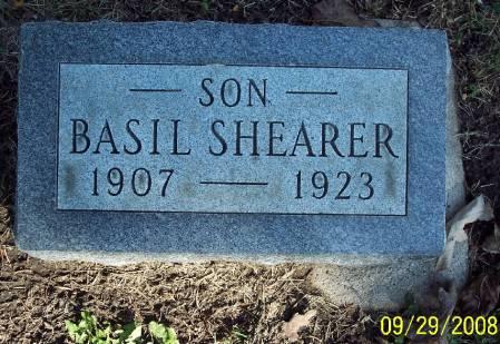 SHEARER, BASIL - Sac County, Iowa | BASIL SHEARER