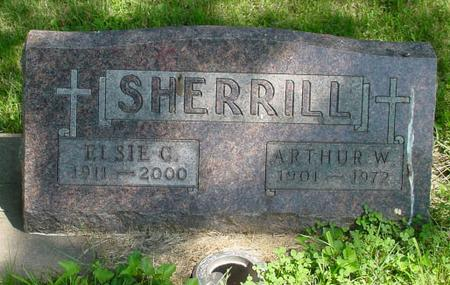 SHERRILL, ARTHUR W. - Sac County, Iowa | ARTHUR W. SHERRILL
