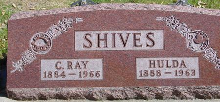 SHIVES, C. RAY & HULDA - Sac County, Iowa | C. RAY & HULDA SHIVES