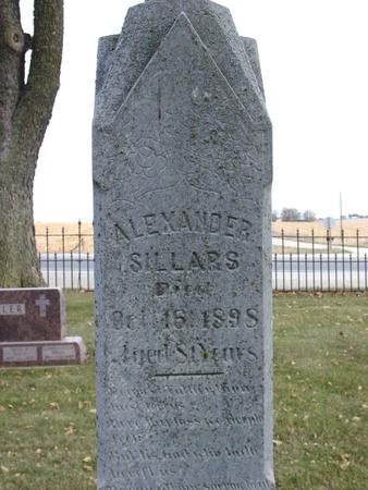 SILLARS, ALEXANDER - Sac County, Iowa | ALEXANDER SILLARS