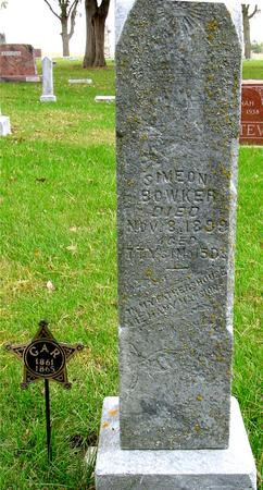 SIMEON, BOWKER - Sac County, Iowa | BOWKER SIMEON