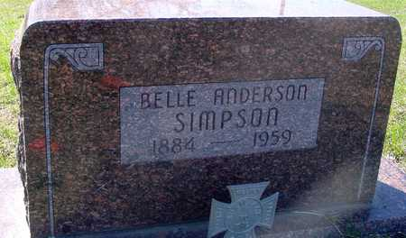 SIMPSON, BELLE - Sac County, Iowa | BELLE SIMPSON
