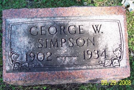 SIMPSON, GEORGE W - Sac County, Iowa | GEORGE W SIMPSON