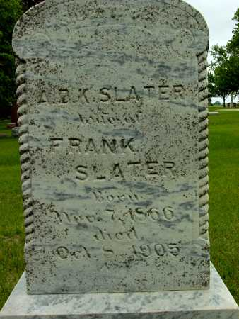 RUTLEDGE SLATER, A.D.K. - Sac County, Iowa | A.D.K. RUTLEDGE SLATER