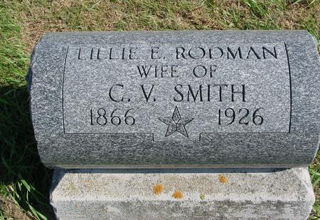 RODMAN SMITH, LILLIE E. - Sac County, Iowa | LILLIE E. RODMAN SMITH
