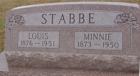 STABBE, LOUIS & MINNIE - Sac County, Iowa | LOUIS & MINNIE STABBE
