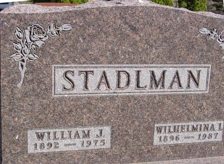 STADLMAN, WILLIAM & WILHELMINA - Sac County, Iowa | WILLIAM & WILHELMINA STADLMAN