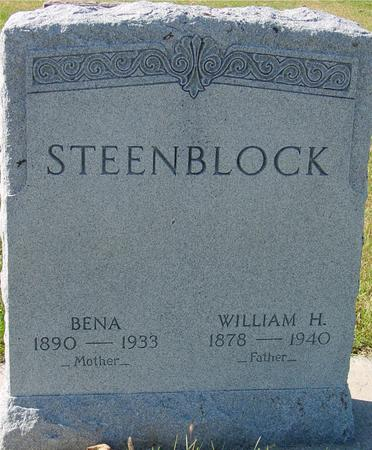 STEENBLOCK, WILLIAM & BENA - Sac County, Iowa | WILLIAM & BENA STEENBLOCK