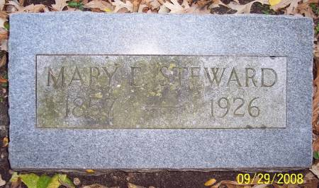 STEWARD, MARY E - Sac County, Iowa | MARY E STEWARD