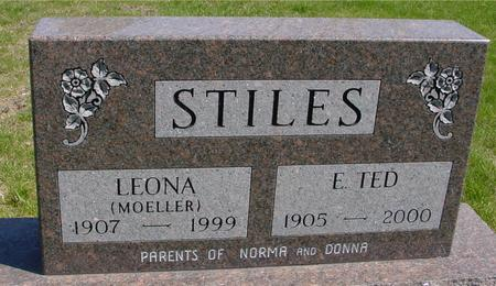 STILES, E. TED & LEONA - Sac County, Iowa | E. TED & LEONA STILES