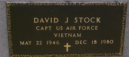 STOCK, DAVID J. - Sac County, Iowa | DAVID J. STOCK