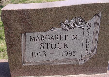 STOCK, MARGARET M. - Sac County, Iowa | MARGARET M. STOCK