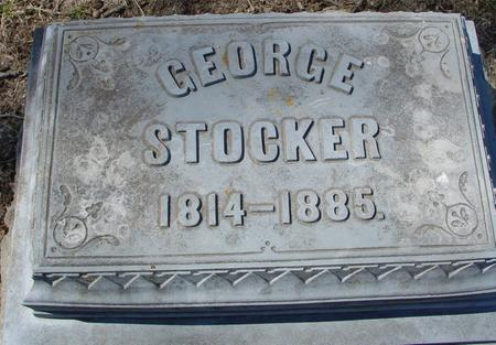 STOCKER, GEORGE - Sac County, Iowa | GEORGE STOCKER