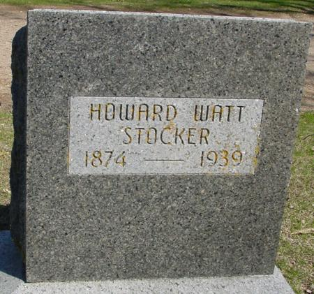 STOCKER, HOWARD WATT - Sac County, Iowa | HOWARD WATT STOCKER
