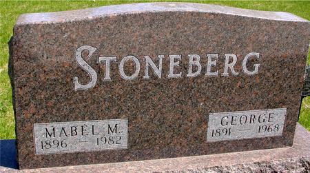 STONEBERG, GEORGE & MABEL M. - Sac County, Iowa | GEORGE & MABEL M. STONEBERG